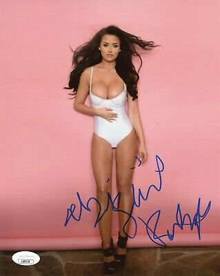 "ABIGAIL RATCHFORD Authentic Hand-Signed ""SEXY"" 8x10 Photo"