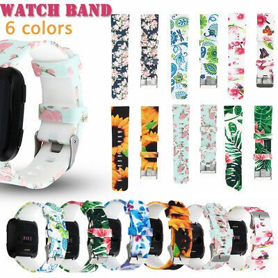 Leather Smart Watch Band Replacement Wristband Watch Bracelet For Fitbit Versa