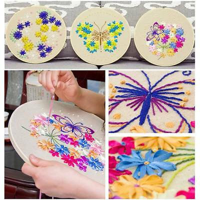 Hand Embroidery Cross Stitch Patterns Sampler Kit for Beginners Craft DIY 7Style