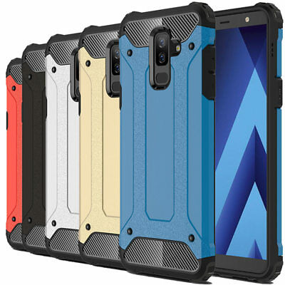 For Samsung J8 2018/A6 PLUS 2018 Shockproof Tough Hybrid Bumper Armor Protective