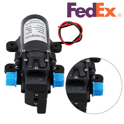 12V/24V 115PSI High Pressure Water Pump Automatic Switch Self Priming Car Garden