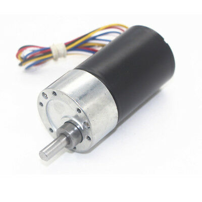 DC12/24V JGB37-3650 Large Torque Turbo Worm Gearbox Reducer Brushless Gear Motor