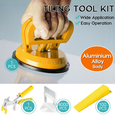400-4000 PCS Tile Leveling System Clips Spacer Tiling Tool Wall Floor 1.5mm AU