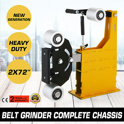 """2x72"""" Belt Grinder Knife Making Complete Chassis Assembly Tools Commercial"""