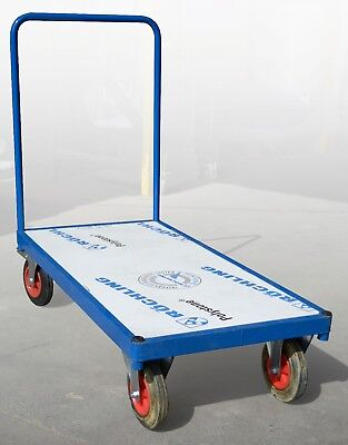 Flatbed Trolley With Plastic Base - 1200x600mm base