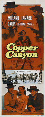 134823 Copper Canyon Hedy Lamarr western Decor WALL PRINT POSTER UK