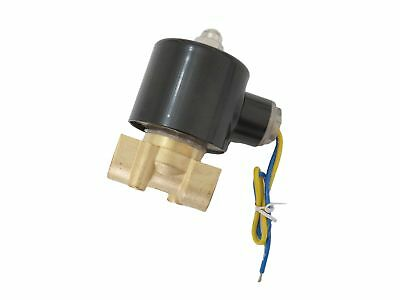 3/8 inch 12V DC VDC Brass Solenoid Valve NPT Gas Water Air Normally Closed