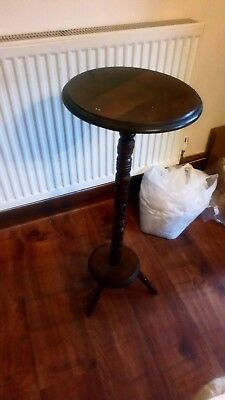 Vintage Original Wooden Plant Stand 32 Inches Tall PROJECT! IDEAL SHABBY CHICING