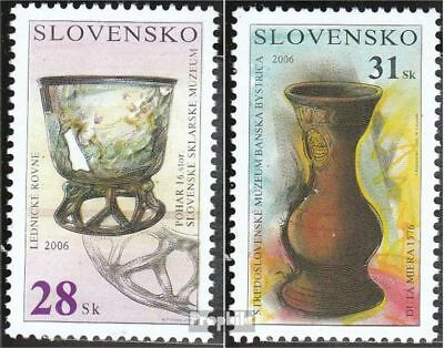 Slovakia 540-541 (complete.issue.) unmounted mint / never hinged 2006 Museum