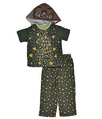 Dragon Toddler 3-Pc Olive Green Gronckle Costume in Green/Brown - 2T