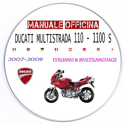Manuale Officina DUCATI MULTISTRADA 1100 1100S WORKSHOP MANUAL SERVICE