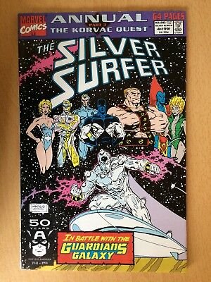 Silver Surfer annual #4 - The Korvac Quest, 1991, Very good condition