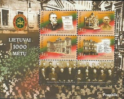 Lithuania block34 (complete.issue.) unmounted mint / never hinged 2007 1000 year