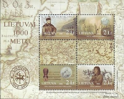 Lithuania Block33 (complete.issue.) unmounted mint / never hinged 2006 1000 year