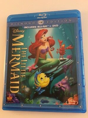 The Little Mermaid: Diamond Edition [Blu-ray + DVD] FREE SHIPPING