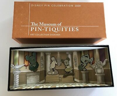 Disney Pin Box Set Ltd Edition 300 The Museum Of Pin - Tiquities