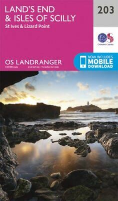 Land's End & Isles of Scilly, St Ives & Lizard Point 9780319263013