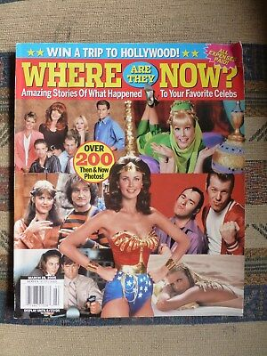 Where are they now? Magazine. Stars from favourite TV shows. March 28, 2005 RARE