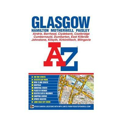 Glasgow Street Atlas by Geographers' A-z Map Company (author)