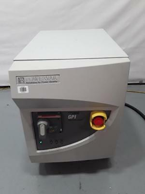 Powervar 2000 GPI Global Power Conditioner Interface ABC 15.0-20D40Y