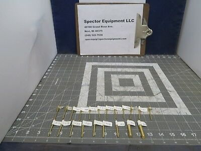 Lot Of (21) Assorted Stepped Class ZZ Plus Plug and Pin Gage [B3B2]