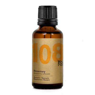 Naissance Rosemary Essential Oil #108 30ml - Pure, Natural, Cruelty Free, Vegan,