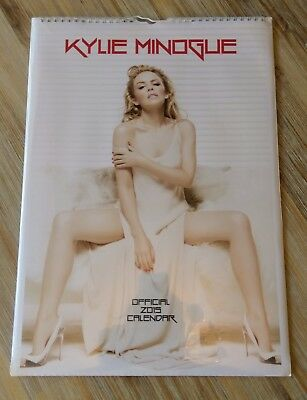 Kylie Minogue 2015 Calendar New