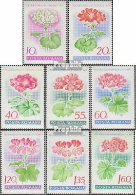 Romania 2686-2693 (complete.issue.) unmounted mint / never hinged 1968 Pelargoni