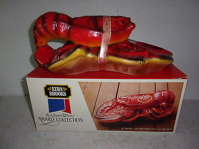 Ezra Brooks The Maine Lobster Decanter with Box