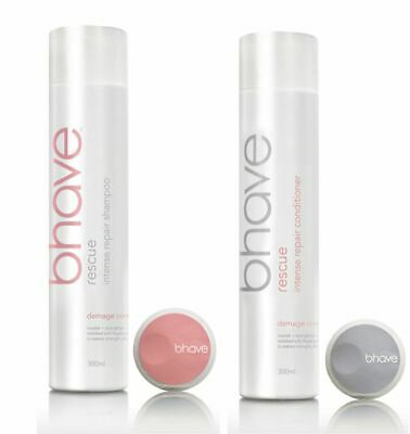 Bhave Rescue Intense Repair Shampoo and Conditioner 300ml Duo Pack