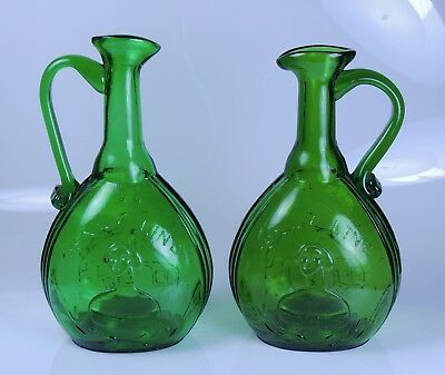 Jenny Lind Jug Pair Clevenger Brothers South Jersey STORE CLOSING SOON