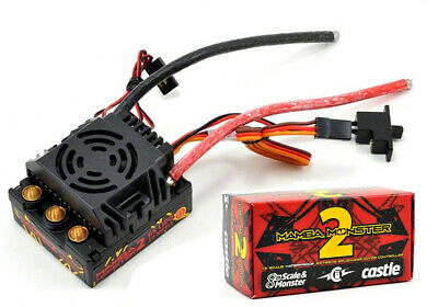 NEW Castle Creations 1/8 Mamba Monster 2 Waterproof ESC Speed Control SHIPS FREE