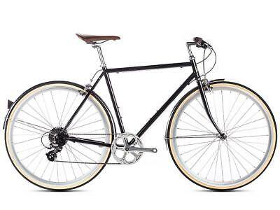 bicicletta city odyssey 8v nero delano medium 54cm 6KU Fixed Single Speed
