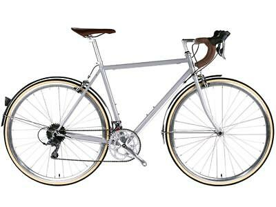 bicicletta city troy 16v silver highland large 58cm 6KU Fixed Single Speed