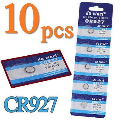 10x CR927 DL927 BR927 5011LC LM927 KCR927 Button Coin Cells Battery Batteries 3V