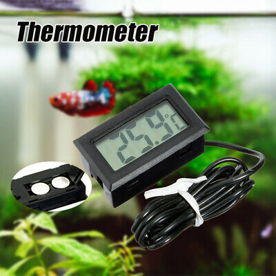 LCD Digital Cable Détecteur Thermomètre Sonde Piscine Aquarium Frigo Congelateur