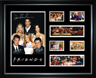 Freinds Limited Edition Signed Framed Memorabilia