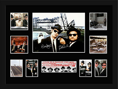 Blues Brothers Signed Framed Memorabilia