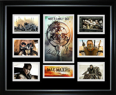 New Mad Max Fury Road Signed Framed Memorabilia