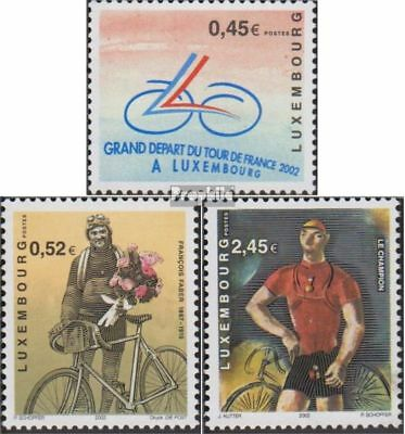 Luxembourg 1574-1576 (complete.issue.) unmounted mint / never hinged 2002 Cyclin