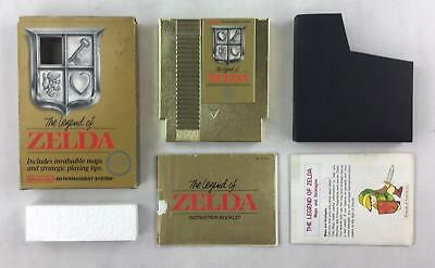 Nintendo (NES) The Legend of Zelda Boxed Complete (Silver Seal) Rough Condition