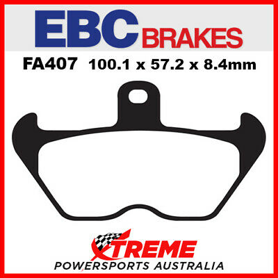 BMW R 1100 GS 93-99 EBC HH Sintered Front Brake Pads, FA407HH