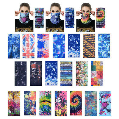 BANDANA Face Mask Mask Fishing Headwear Biker Neck Skull Head UV Tube Scarf