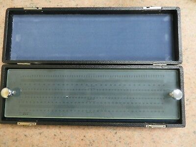 Optical Gaging Products OGP Optical Scale w/ case - (10x - 62.5X) - NB2