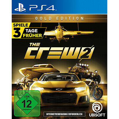 The Crew 2 - Gold Edition - PlayStation 4