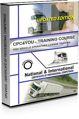 CPC 2018 Training Course - For The Managers HGV Operators License