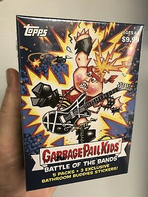GPK Topps 2017 Garbage Pail Kids S2 Battle of the Bands Value sketch BLASTER BOX