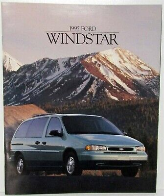 1995 Ford Windstar Sales Brochure