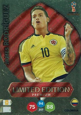 Panini Adrenalyn XL World Cup 2018 Russia WM Limited Edition James Rodriguez