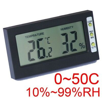 Digital LCD Hygrometer Temperature Humidity Meter Thermometer RH Feuchte-messer